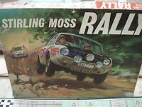 STIRLING MOSS RALLY GAME - RALLY GAME - RARE - SIR STIRLING MOSS - VINTAGE GAME