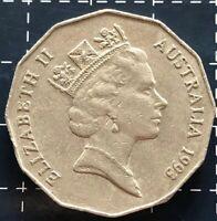 1993 AUSTRALIAN 50 CENT COIN
