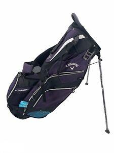 Callaway Fusion 14 Stand golf Bag - Purple / Black / Titanium