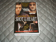 V.H.S. VIDEO TAPE.........( BIG BOX )........SHOT IN THE HEART......FREE POSTAGE