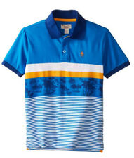 Ferrari Polo Shirt New with Tag blue yellow Youth/Teens Large XL race