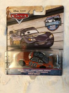 Disney Pixar Cars Thomasville Racing Legends Ponchy Wipeout #90 - New