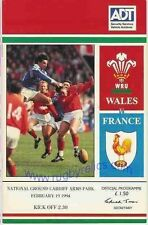 WALES v FRANCE 1994 RUGBY MEMORABILIA COLLECTION, GREAT WIN FOR WALES