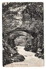 Roman Bridge - Betws Y Coed Photo Postcard 1913