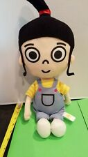 """Toy Factory DESPICABLE ME Stuffed Plush AGNES Girl DOLL 13"""" 2017"""