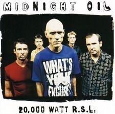 MIDNIGHT OIL (20,000 WATT RSL - GREATEST HITS CD SEALED + FREE POST)