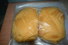 Southern Belle Mill End Yarn 12 oz Gold 3-4 Ply Acrylic