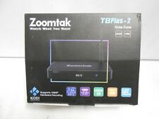 BRAND NEW ZOOMTAK T8 Plus 2 TV STREAMING BOX MEDIA STREAMER INTERNET TELEVISION