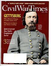 Civil War Times Aug 2012: Gettysburg, Pickett's Charge, Times Sq.,  index image