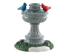 NEW 2018 LEMAX VILLAGE COLLECTION BIRD FOUNTAIN #84385