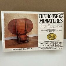 Vintage House Of Miniatures #40075 Chair Table Kit