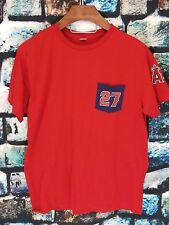 Anaheim Angels of Los Angeles Men's T-shirt Red Size X-Large Mike Trout