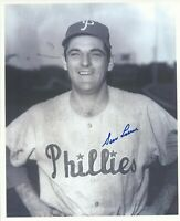 Gene Freese (DD) 1959 Philadelphia Phillies Signed Autographed 8x10 Photo COA