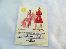 Arabian Nights Brochure #0774 Made For Vintage Ken 1963 !!