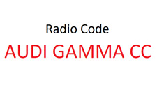Audi Gamma CC Radio Code / Key Code Grundig Audi Beta 2 Philips