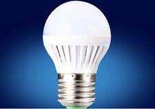 Vendeur FRANCAIS lot 4 x Ampoules LED bulbe E27, 4W blanc chaud, SMD BULB WHITE