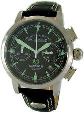 Riedenschild Genero II Chronograph Chrono Edelstahl Uhr stainless steel watch