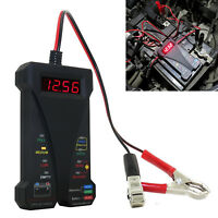 12V Car Digital Battery Tester Analyzer Auto Diagnostic Tool With LED Light New