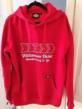 Mens Dickies Workwear Red Hoodie size Large