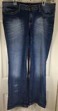 ANA A New Approach Blue Women's Jeans Size 14 Modern Bootcut LENGHT 41 1/2