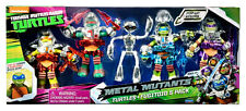 TEENAGE MUTANT NINJA TURTLES FUGITOID METAL MUTANT 5-PACK SET TARGET EXCLSV TMNT