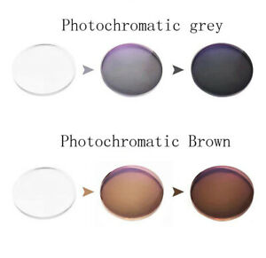 Replacement Lenses--Photochromatic Lens Sunglasses Lens Grey Brown