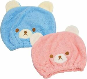 Cap Head Towel for Children Girls - Quick Drying Bath Fast Dry Hat for Curly