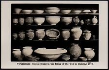 Postcard - Hertfordshire - St Albans, Vessels Found in Filling Well Building