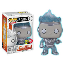 Funko Pop!: DC 2016 SDCC FIRESTORM (WHITE LANTERN) (GLOWS IN DARK) (#91) IN HAND
