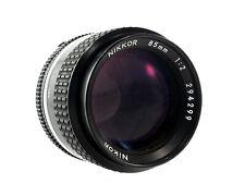 Nikon Nikkor AIS 85mm 1:2 | Lens - 35703
