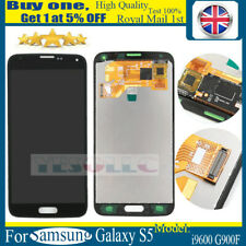 For Samsung Galaxy S5 LCD Touch Screen Digitizer Assembly Replacement Black