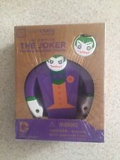 THE JOKER DC Comics Wooden Painted Figure NEW Loot Crate Exclusive Collectable