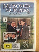 MIDSOMER MURDERS NO 4 FAITHFUL UNTO DEATH BRAND NEW & SEALED DVD B9