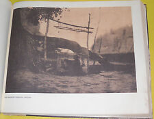 Edward Sheriff Curtis 1908 The Blanket Weaver - Navaho Indian Print! Nice See!