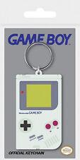 NINTENDO GAME BOY - Gummi Schlüsselanhänger Keychain Keyring