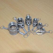 """3/4"""" D 316SS Trash Pump Adapter Female Camlock x Female Pipe Threads CF8M"""