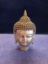 Tibet Tibetan Buddhism Shakyamuni Buddha Head Bust Statue Figurine !!