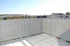 Balkon Sichtschutz Windschutz Zaun PVC Netz XXL m Lang x 0,70m ca.300g/qm Grau