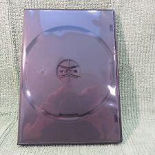 Lot of 15 Media Safe Black Matte Plastic R4B-AMR DVD Movie Holders Boxes