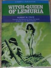 Robert M Price WITCH-QUEEN OF LEMURIA (Rainfall) Steve Lines