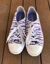 Converse - Chuck Taylor - All Star - Purple - Zebra Stripes - Women/Girl's Shoes