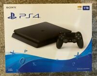 BRAND NEW Sony PlayStation 4 Slim 1TB Console - Jet Black, PS4 - FAST SHIPPING