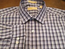 MICHAEL KORS SHIRT THAT IS SHADES OF BLUE SIZE 17/32-33