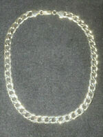 "30/""STAINLESS STEEL HEAVY MIAMI CUBAN LINK SILVER CHAIN NECKLACE 12mm 216g"