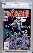 Wolverine #1 CBCS 9.8 Unlimited Series 1988 X-Men! WP! Like CGC! F7 028 cm