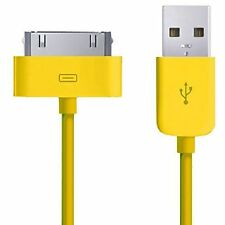 20 x iPad 2 iPhone 4/4S/3/3G Sync Charger Cable WHOLESALE/BULK/JOB LOT YELLOW