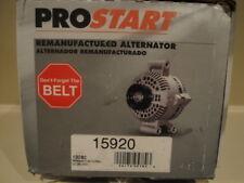 ProStart Remanufactured Altenator 15920