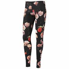 Adidas Originals x Rita Ora Leggings Roses Print Black Floral Track Bottoms Sz S