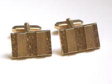 gemelos vintage dorados Cufflinks retro Montre De Poche