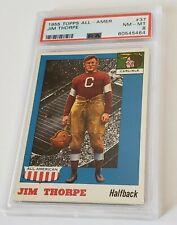 1955-Todos os Topps American Jim Thorpe Autenticador de esportes profissional #37 8